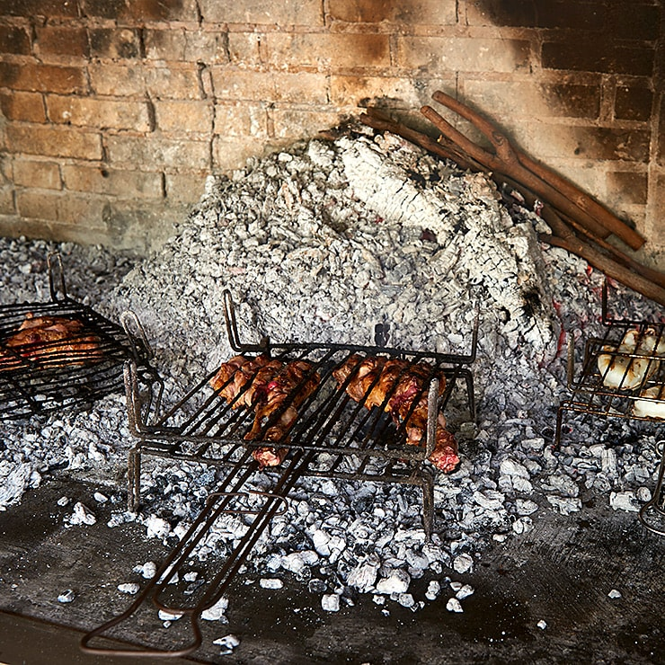 Restaurante Guadalest · Carnes a la brasa